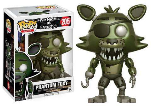 Funko Five Nights at Freddy's POP! Games Phantom Foxy Exclusive Vinyl Figure #205