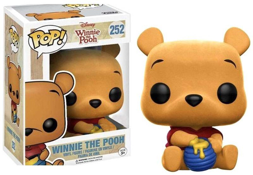 Funko POP! Disney Winnie The Pooh Exclusive Vinyl Figure #252 [Seated, Flocked]