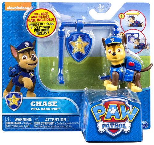 Paw Patrol Pull Back Pup Chase Figure