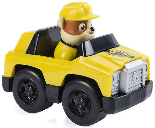 Paw Patrol Rubble's Roadster Figure [Figure Does Not Come Out!]