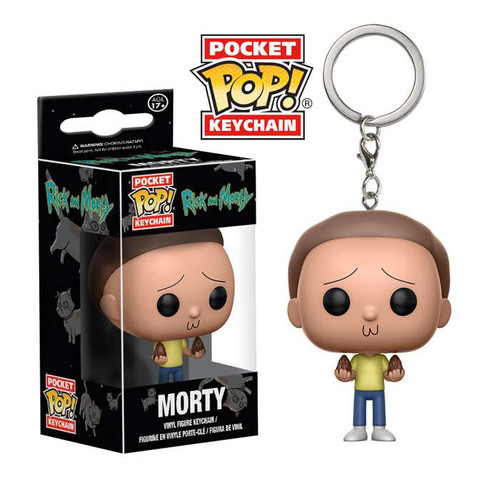 Funko Rick & Morty POP! Animation Morty Keychain