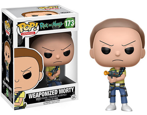 Funko Rick & Morty POP! Animation Weaponized Morty Vinyl Figure #173