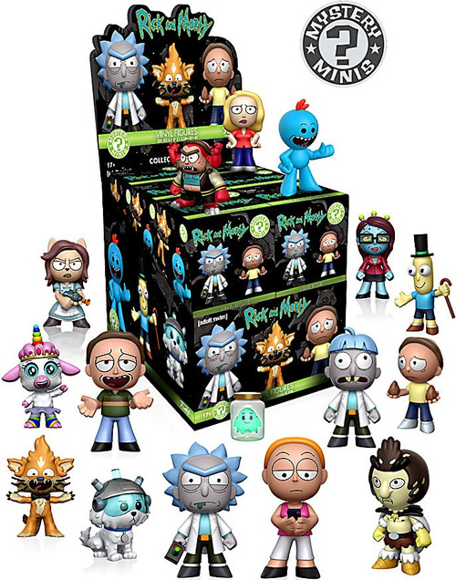 Funko Mystery Minis Rick & Morty Series 1 Mystery Box [12 Packs]