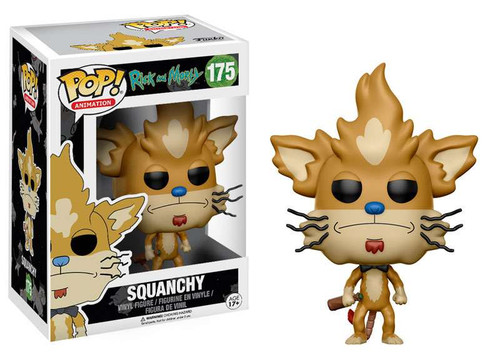 Funko Rick & Morty POP! Animation Squanchy Vinyl Figure #175