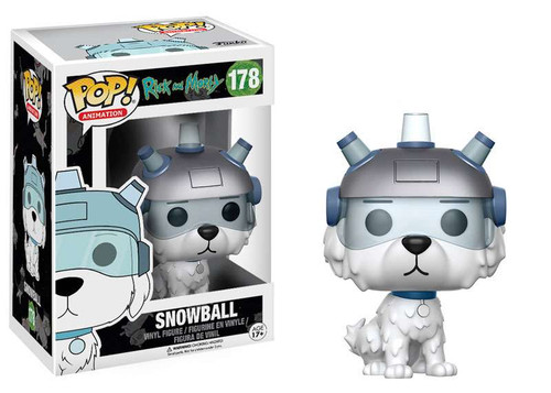 Funko Rick & Morty POP! Animation Snowball Vinyl Figure #178
