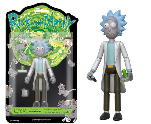 Funko Rick & Morty Rick Action Figure [Build Snowball Part]