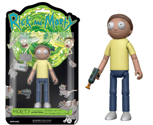Funko Rick & Morty Morty Action Figure [Build Snowball Part]