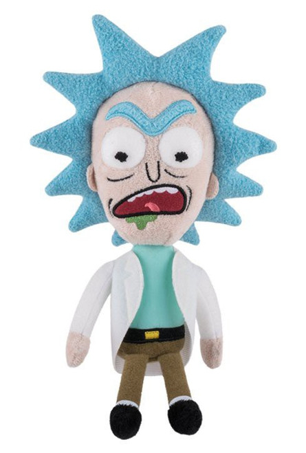 Funko Rick & Morty Galactic Series 1 Rick Plush [Mad]