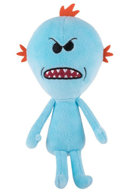 Funko Rick & Morty Galactic Series 1 Mr. Meeseeks Plush [Mad]