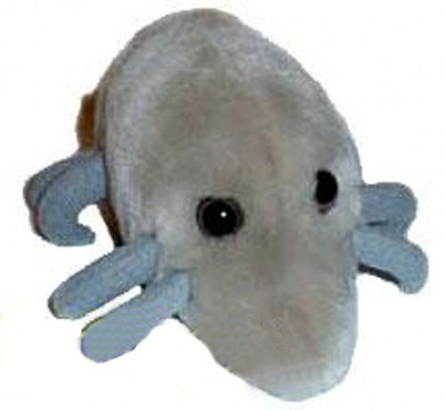 Giant Microbes Critters Dust Mite Plush Doll [Dermtaphagoides pteronyssnus]