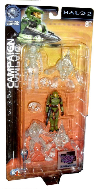 Halo 2 Campaign Mini Figure 5-Pack [Active Camouflage]