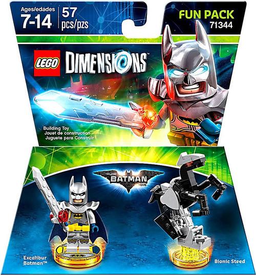 LEGO Dimensions LEGO Batman Movie Excalibur Batman Exclusive Fun Pack #71344