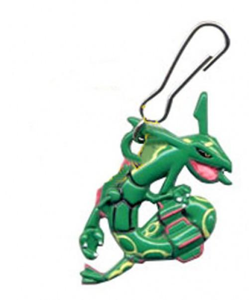 Pokemon Mini Dangler Rayquaza Metal Keychain