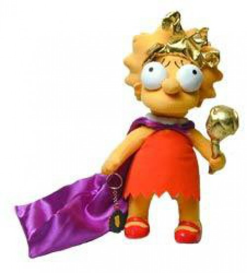 The Simpsons Lisa Simpson Plush Figure [The Beauty Queen]