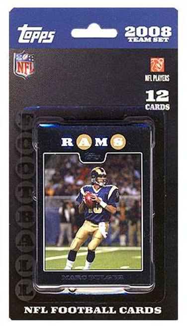 NFL 2008 Topps Football Cards St. Louis Rams Team Set
