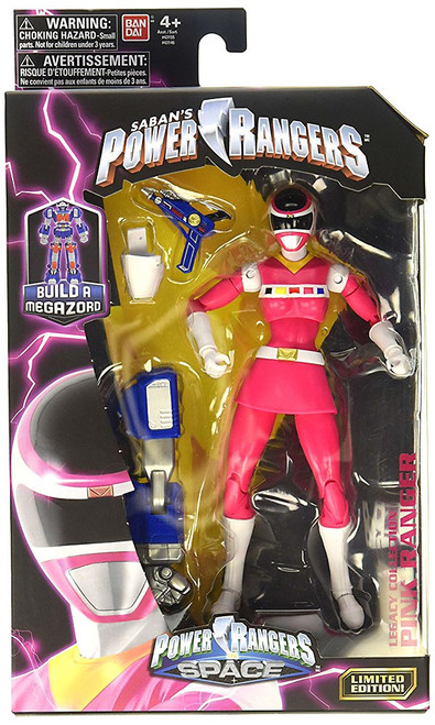 Power Rangers In Space Legacy Build A Megazord Pink Ranger Action Figure [PRIS]
