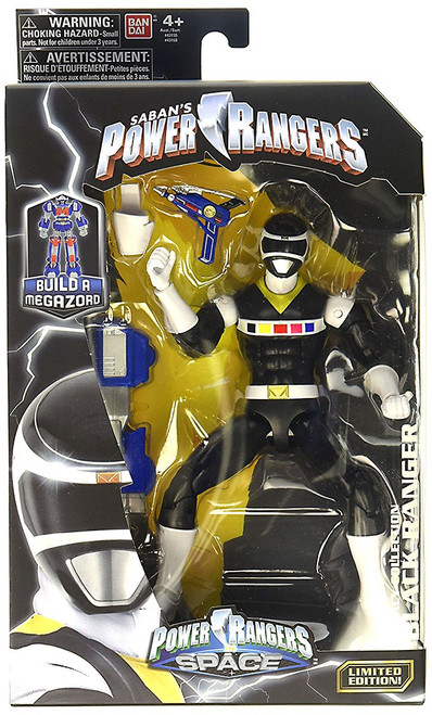 Power Rangers In Space Legacy Build A Megazord Black Ranger Action Figure [PRIS]