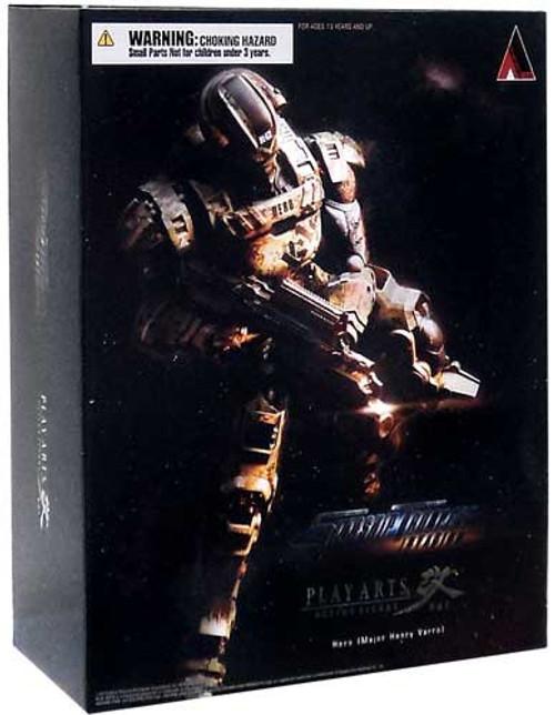 Starship Troopers Invasion Play Arts Kai Major Henry Varro Action Figure [Hero]