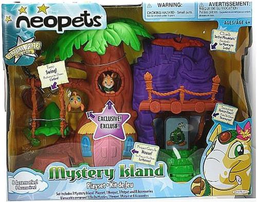 Neopets Mystery Island Mini Figure Playset