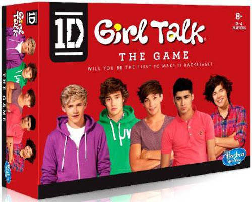 One Direction 1D Girl Talk Board Game