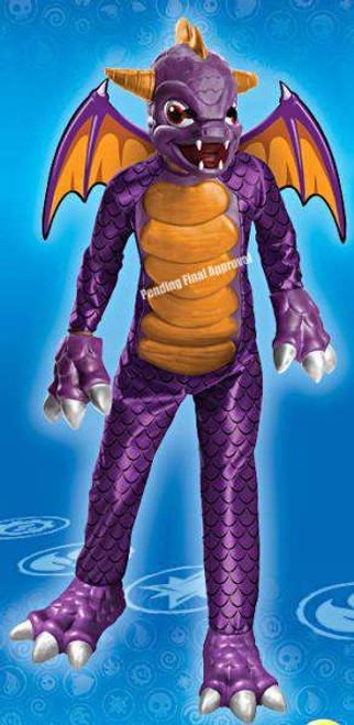 Skylanders Spyro Costume [Child Large]