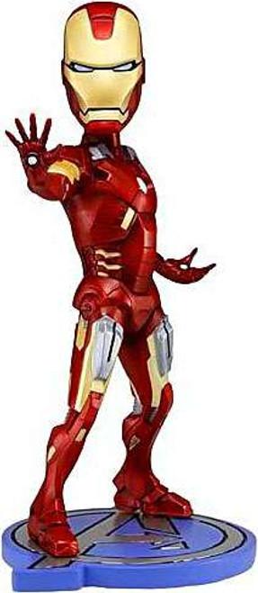 NECA Marvel The Avengers Head Knockers Iron Man Bobble Head
