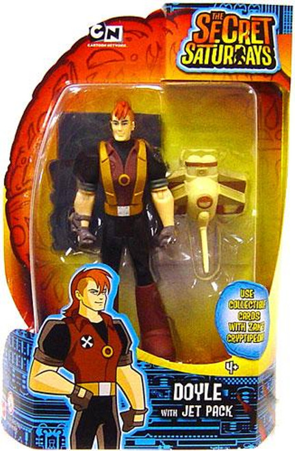 The Secret Saturdays Doyle Action Figure [With Jet Pack]