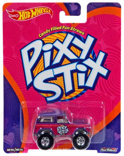 Hot Wheels Pop Culture Culture Candy Pixy Stix '67 Ford Bronco Die-Cast Car DWH16