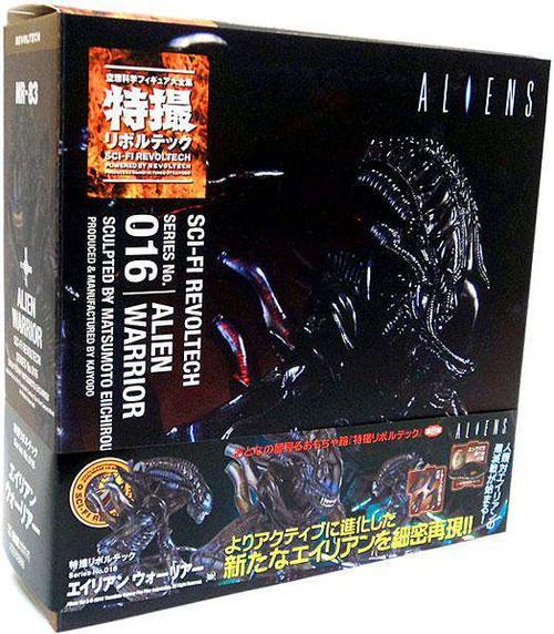 Aliens Sci-Fi Revoltech Alien Warrior Action Figure #016