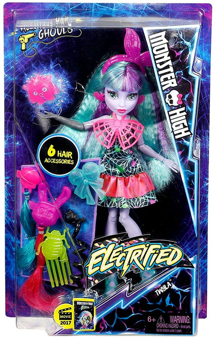 Monster High Electrified Twyla Doll