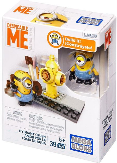 Mega Bloks Despicable Me Hydrant Crush Set DPG67