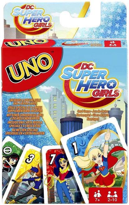 DC Super Hero Girls UNO Card Game