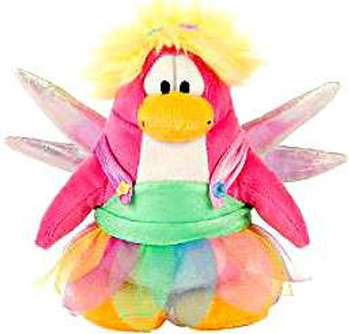 Club Penguin Series 13 Rainbow Fairy 6.5-Inch Plush Figure