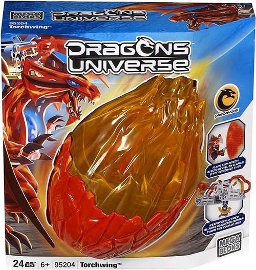 Mega Bloks Dragons Universe Torchwing Set #95204