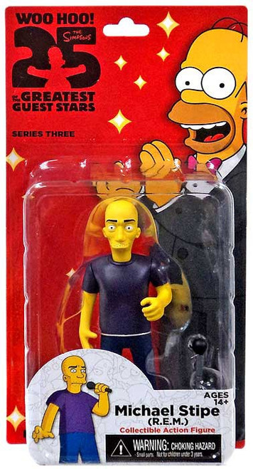 The Simpsons Greatest Guest Stars Series 3 Michael Stipe Action FIgure
