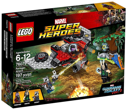 LEGO Marvel Super Heroes Guardians of the Galaxy Vol. 2 Ravager Attack Set #76079