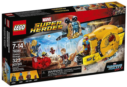 LEGO Marvel Super Heroes Guardians of the Galaxy Vol. 2 Ayesha's Revenge Set #76080