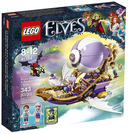LEGO Elves Aira's Airship & the Amulet Chase Set #41184