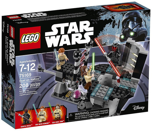 LEGO Star Wars Duel on Naboo Set #75169