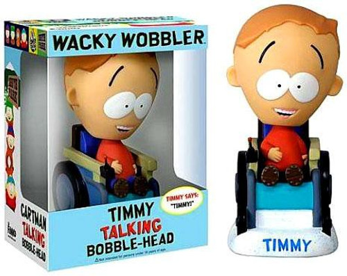 Funko South Park Wacky Wobbler Timmy Talking Bobble Head