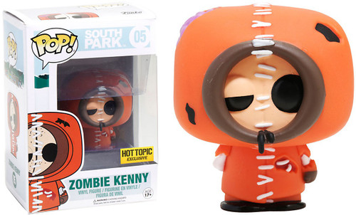 Funko South Park POP! TV Zombie Kenny Exclusive Vinyl Figure #05