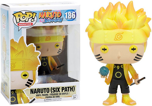 Funko POP! Anime Naruto Exclusive Vinyl Figure #186 [Six Path, Glow-in-the-Dark]