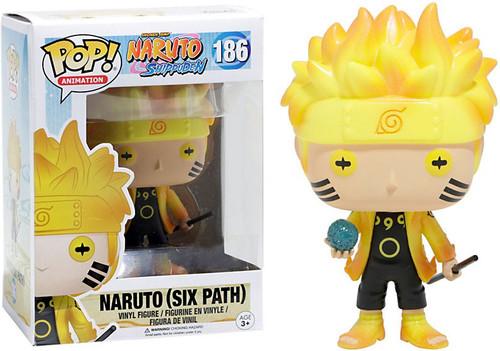 Funko POP! Anime Naruto Exclusive Vinyl Figure #186 [Six Path, Glow-in-the-Dark]
