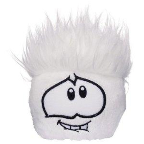 Club Penguin Series 7 Party White Puffle 4-Inch Plush
