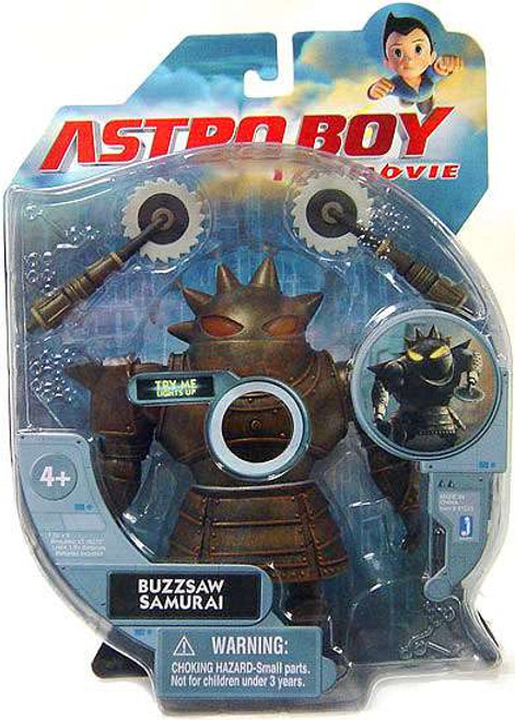 Astro Boy The Movie Buzzsaw Samurai Action Figure [Deluxe Light Up]