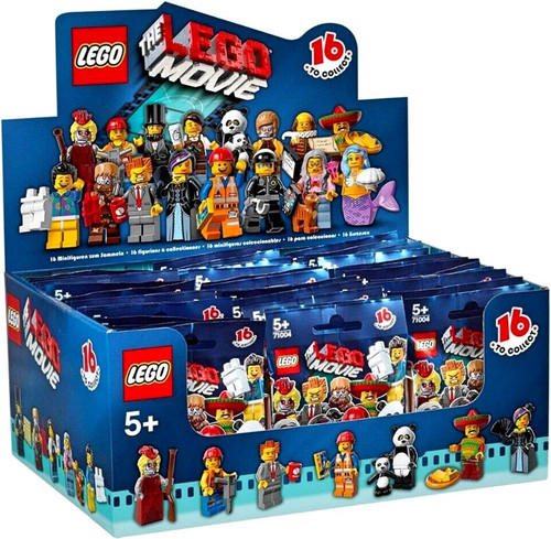 LEGO Minifigures The LEGO Movie Mystery Box [60 Packs]