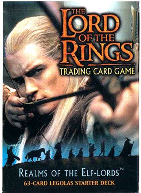 Lord of the Rings Realm of The Elf Lord Theme Deck