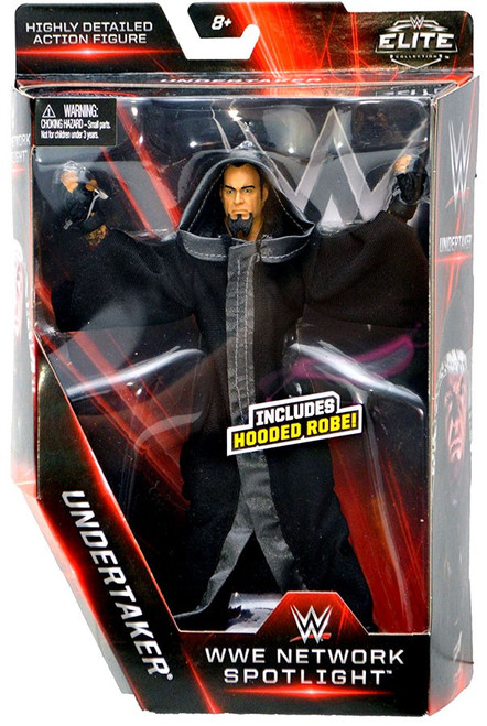 WWE Wrestling Elite Network Spotlight Undertaker Exclusive Action Figure [Hooded Robe]