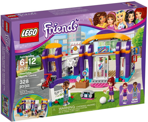 LEGO Friends Heartlake Sports Center Set #41312