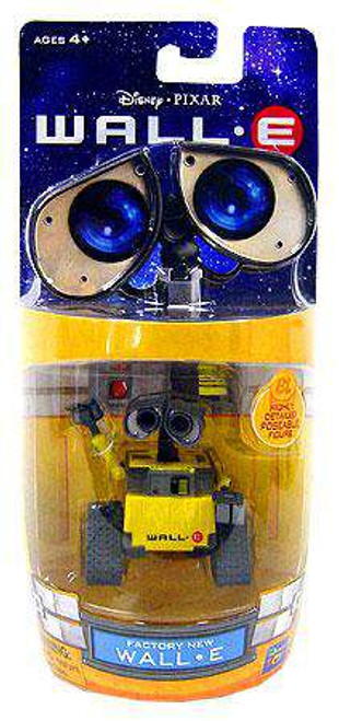 Disney / Pixar 3 Inch Poseable Factory New Wall-E Mini Figure [Damaged Package]